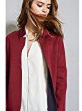 Oltre: giacca donna lunga destrutturata con tagli a vivo