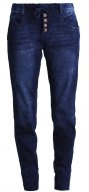 Jeans baggy - mid stone wash denim