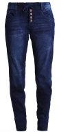 Jeans baggy - mid stone wash denim