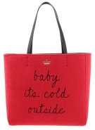 HALLIE - Shopping bag - red