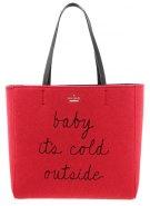 HALLIE - Shopping bag - red
