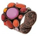 ALIEN CAVIAR - Anello - pink/orange antique