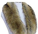 Sciarpe, Donna Scialli pelliccia sintetica Stole Inverno Neck Collo Più Caldo Sciarpa Collo di pelliccia, in finta pelliccia, Inverno Neck Più Caldo Sciarpe