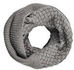 Butterme Collo Di Inverno Caldo Delle Donne a Maglia Sciarpe Loop Sciarpa Infinity Spesso Wrap Circle