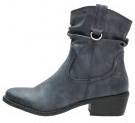 Stivaletti texani / biker - navy antic