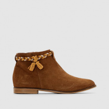 Boots dettaglio treccia