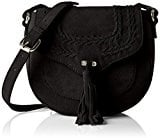 PIECES Pcdaggy Suede Cross Body BAG, Borsa a Tracolla Donna
