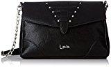 LPB Woman W16b0601, Borsa a tracolla donna , Nero (nero), Taille Unique
