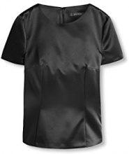 Esprit 116eo1f023, Camicia Donna, Nero (Black), 44