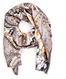ManuMar Donna Autunno / Inverno XXL sciarpa di autunno inverno sciarpa snod oversize grigio bianco blu Pashima
