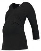 AUDREY - Maglietta a manica lunga - black