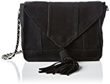 PIECES - Pctimmy Suede Cross Over Bag, Borsa a tracolla Donna