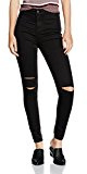New Look Disco Knee Slash, Jeans Donna