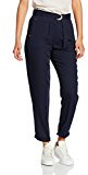 New Look Polly Piquet Twirl Viscose Twill, Pantaloni da Donna