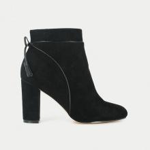 Boots pelle con tacco Sylvia