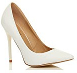 Donna tacco alto lavoro festa elegante scarpe de moda décolleté a punta taglia