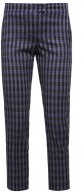 CARTA - Pantaloni - blue/grey check