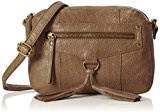 PIECES - PCDEPTI LEATHER CROSS BODY BAG, Borsa a tracolla Donna