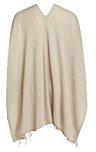 Zwillingsherz Donna Poncho con strisce Cashmere & # 10084; ottima alternativa per magliette, Cardigan, giacche e maglioni
