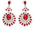 scarlet bijoux - orecchini a perno in diversi colori