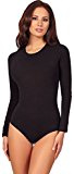 Merry Style Donna Body a Maniche Lunghe BD900