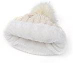 Kuyou Donna Berretto in maglia Cappello Inverno Sci Beanie Cap