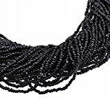 Collana da Donna Girocollo Multifili Colore Nero
