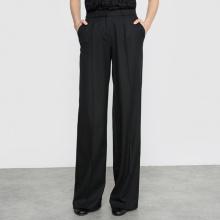 Pantaloni larghi in flanella
