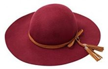 ESPRIT 086EA1P006, Cappello Donna, Rosso (BORDEAUX RED), Medium
