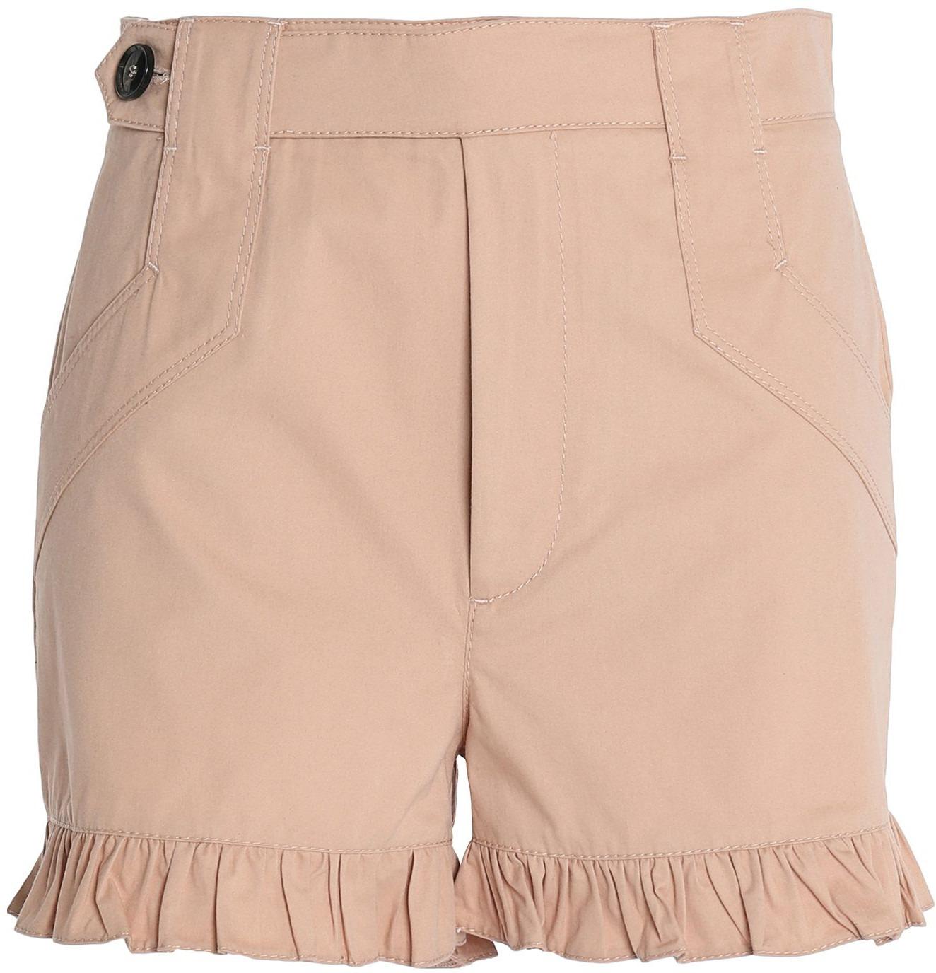 Pantaloni corti e shorts tinta unita beige | Tendenze Donna