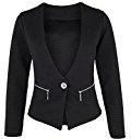 Danaest - Giacca da abito - Camicia - Basic - Maniche lunghe  -  donna