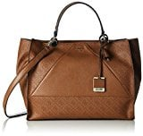 Guess - Cammie Large Satchel, Borsa a mano Donna