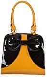 Banned 50s Lilia Borsetta stile Rockabilly, colore: giallo