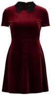 Vestito estivo - burgundy