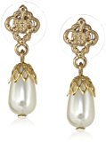 Downton Abbey         bianco Perla FASHIONEARRING