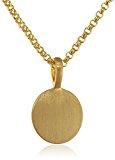 Pilgrim Collana da donna-con ciondolo placcato oro 1714420_1