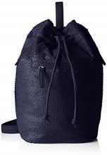 Boscha BO-1003-BI, Borsa a Zainetto Donna, Blu (Blu (Midnight Blue)), 23x37x19 cm (B x H x T)