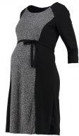 MLMERLE - Vestito di maglina - black
