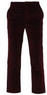 Pantaloni - oxblood red