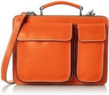 Chicca Borse 7007 Borsa Organizer Portatutto, 27 cm, Arancione