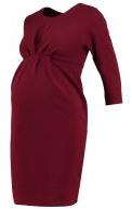 Vestito di maglina - dark burgundy
