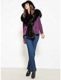 Fiorella Rubino: jeans donna, modello bootcut. Plus size