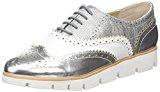La Strada - Silver/White Lace Up Shoe, Scarpe da ginnastica Donna
