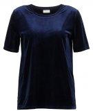 VIVELVETINE - T-shirt basic - total eclipse