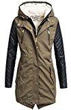 Rock Angel 2in1cappotto invernale da donna con giacca interna estraibile 44265brs