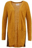 HELLEN - Cardigan - golden yellow melange