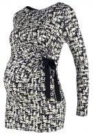 SISSY - Maglietta a manica lunga - black/white