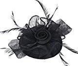 Donna Fiore Clip di Capelli della Piuma Ornamenti Decorazione per la Cerimonia di Nozze Halloween Partito