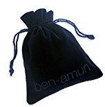 Ben-Amun Orecchini a Perno da Donna Placcato Argento Swarovski Vetro Trasparente Marchesa