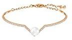 Swarovski–Bracciale da donna edify bianco cristallo 5.9cm–5193123